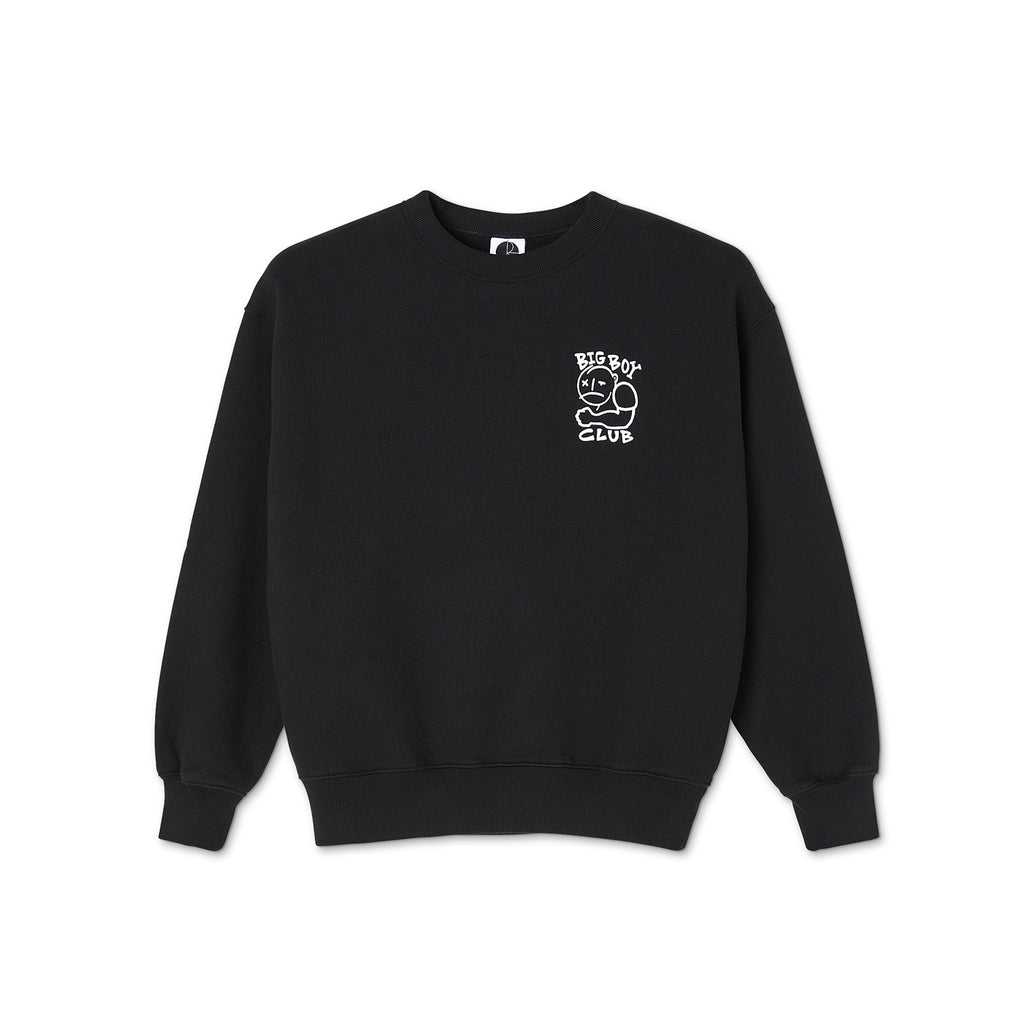 Polar Skate Co Big Boy Club Crewneck in Black