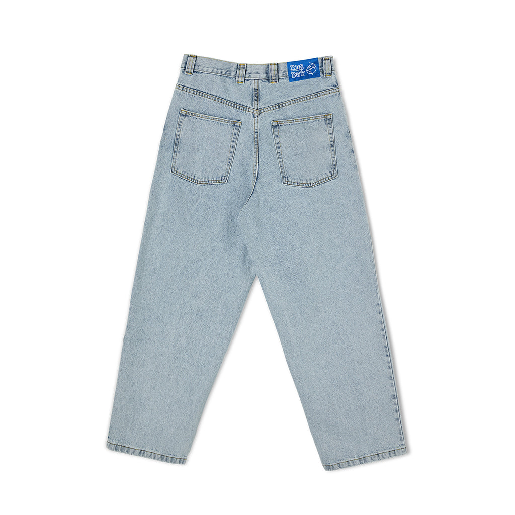 Polar Skate Co Big Boy Jeans in Light Blue