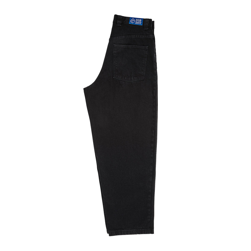 Polar Skate Co Big Boy Jeans in Pitch Black - Leg