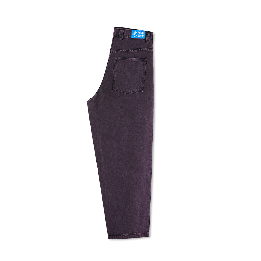 Polar Skate Co Big Boy Jeans in Purple Black - leg
