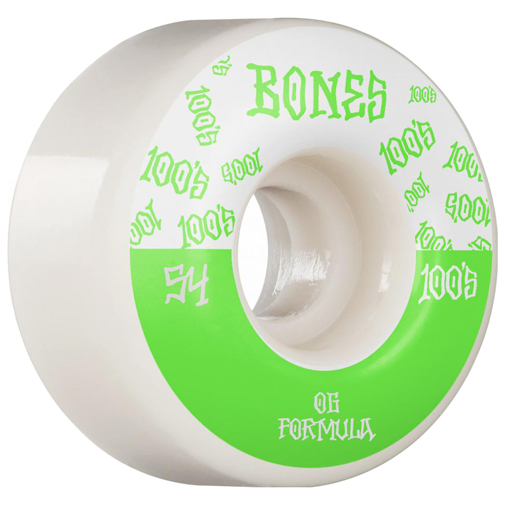 Bones Wheels 100's #13 V4 Skateboard Wheels in 54mm