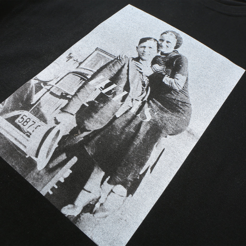 Helas Bonnie & Clyde T Shirt Black - Graphic