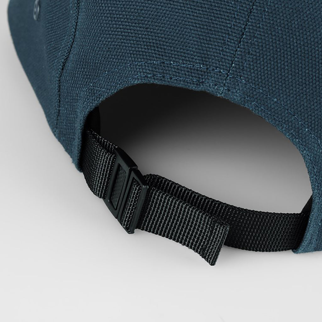 Carhartt WIP Backley 5 Panel Cap in Admiral - Strap