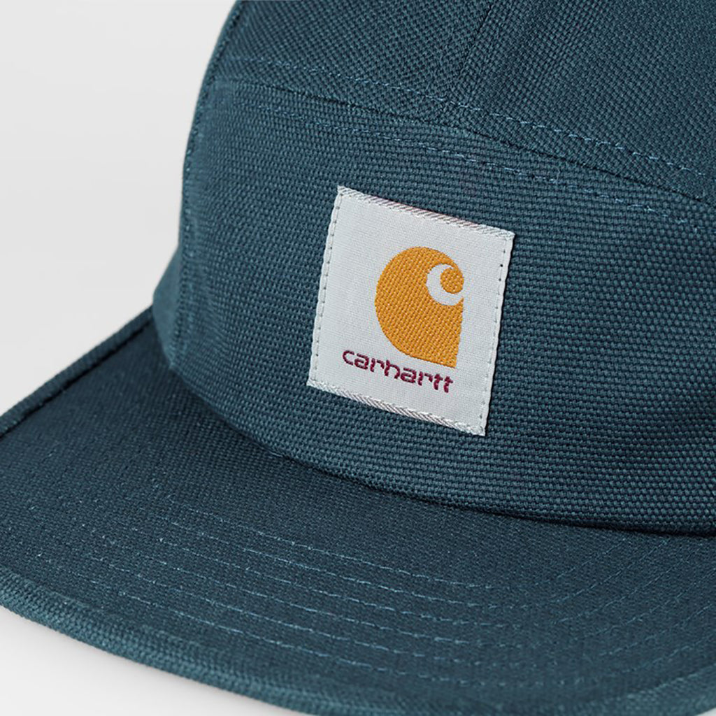 Carhartt WIP Backley 5 Panel Cap in Admiral - Detail