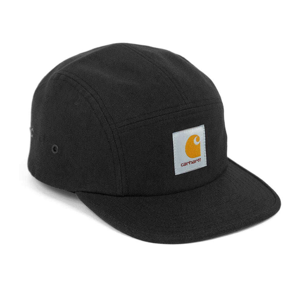 Carhartt WIP Backley 5 Panel Cap in Black