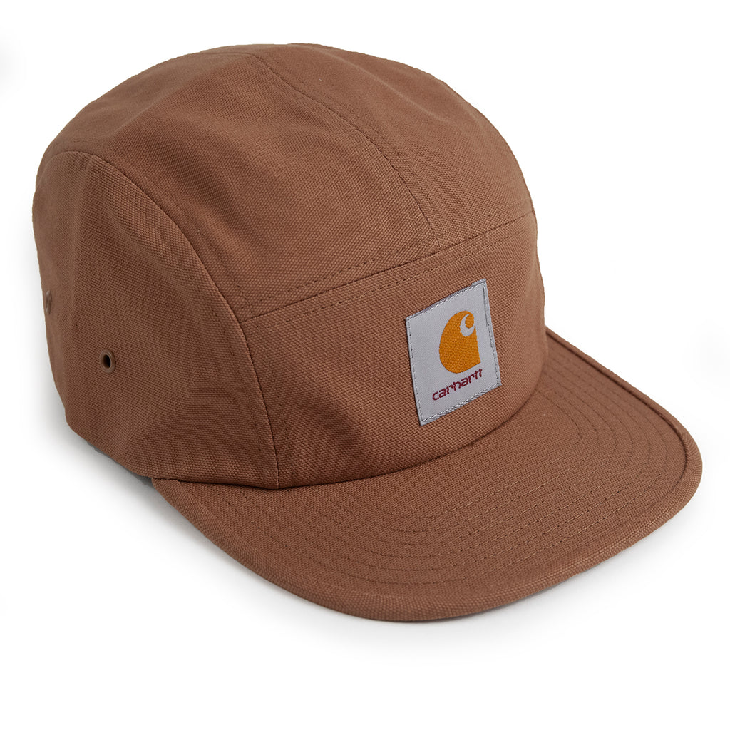 Carhartt WIP Backley 5 Panel Cap in Hamilton Brown
