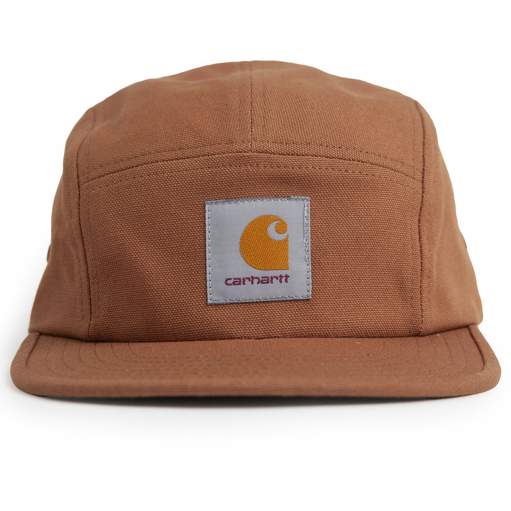 Carhartt WIP Backley 5 Panel Cap in Hamilton Brown - Front