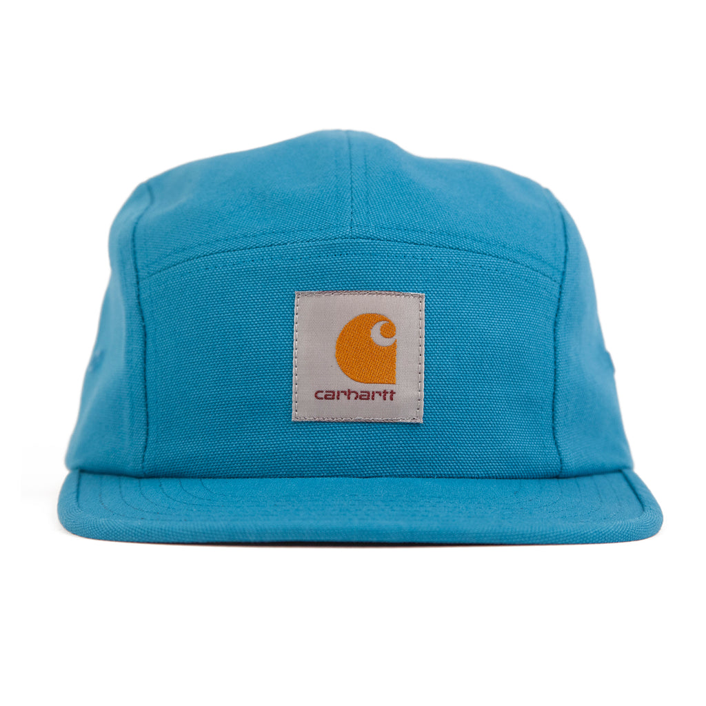 Carhartt Backley 5 Panel Cap in Pizol - Front