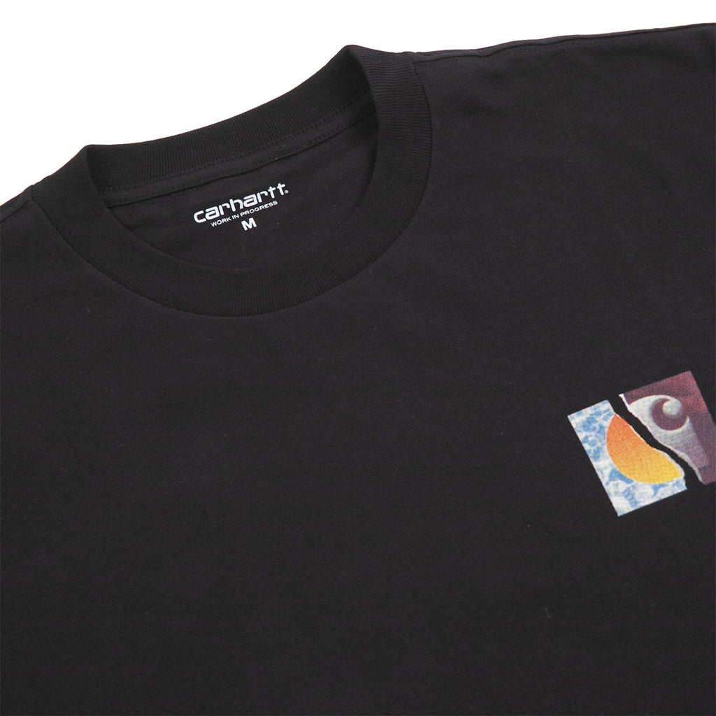 Carhartt WIP Backpages T Shirt in Black - Detail