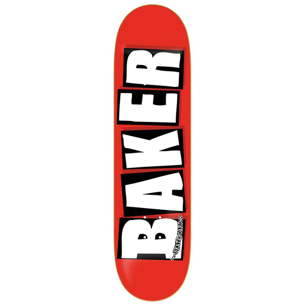 Baker Skateboards Brand Logo White Skateboard Deck