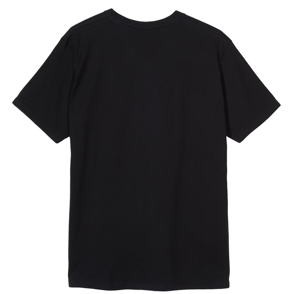 Stussy Barcode T Shirt in Black - Back