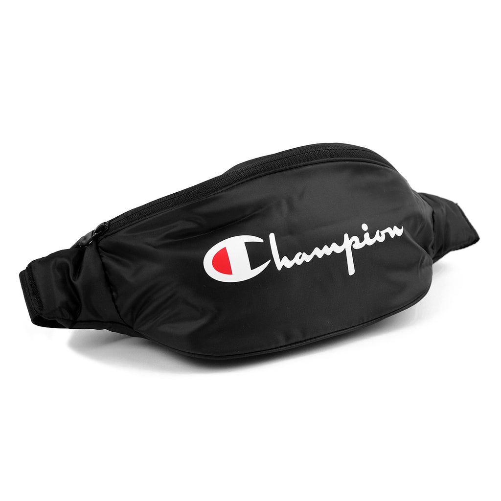 Champion Reverse Weave Script Belt Bag in Black