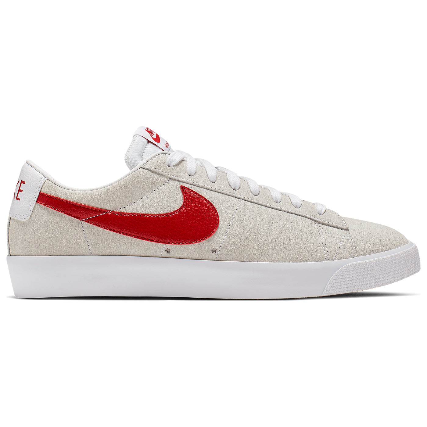 check out 39776 6355c Blazer Low Grant Taylor Shoes in White / University Red by ...