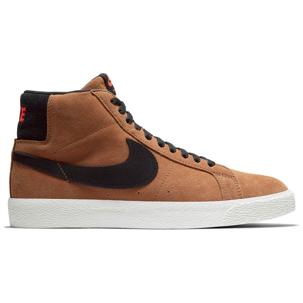 Nike SB Zoom Blazer Mid Shoes in Lt British Tan / Black