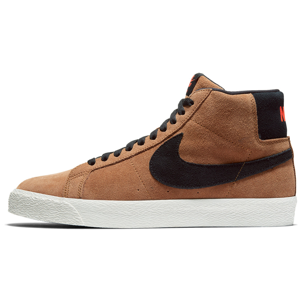 Nike SB Zoom Blazer Mid Shoes in Lt British Tan / Black - Right