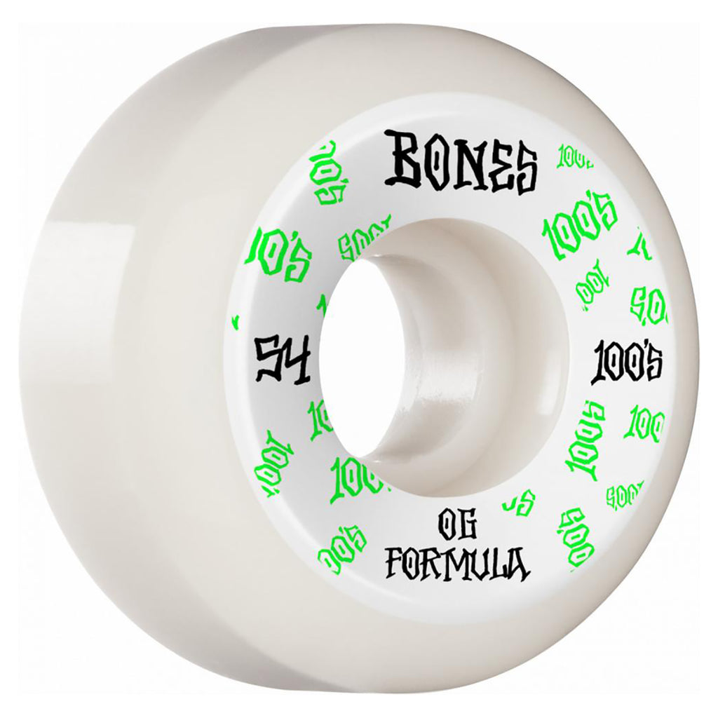 Bones Wheels 100's #3 V5 Sidecut in 54MM