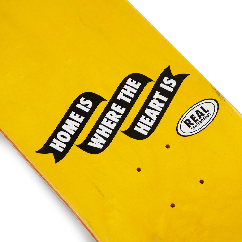 "Real Skateboards x Bored of Southsea Skateboard Deck in 8.25"" - Top detail"