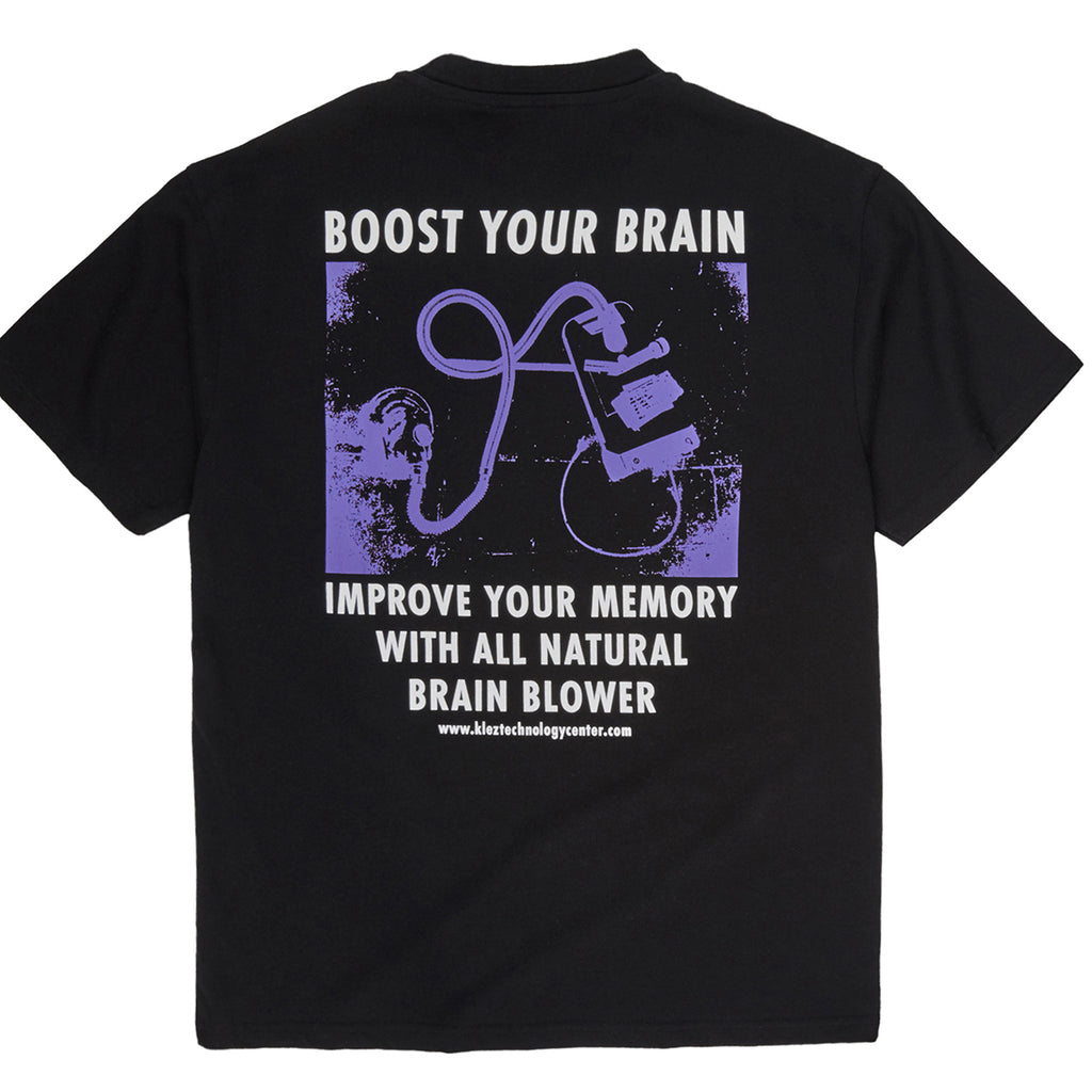 Polar Skate Co Brain Blower T Shirt in Black