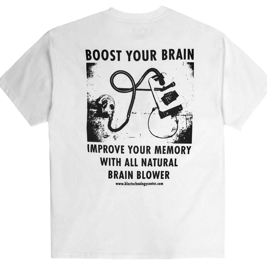 Polar Skate Co Brain Blower T Shirt in White