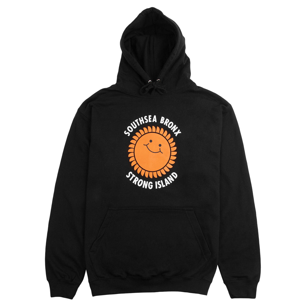 Southsea Bronx Strong Island Hoodie in Black