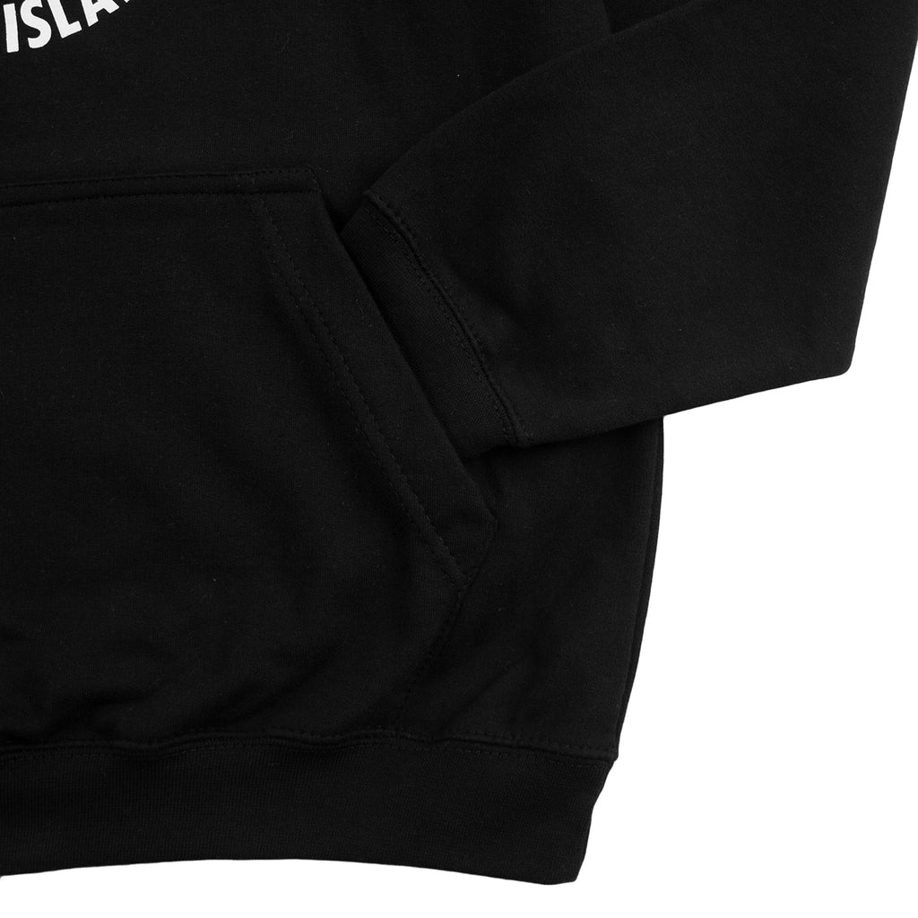 Southsea Bronx Strong Island Hoodie in Black - Pocket