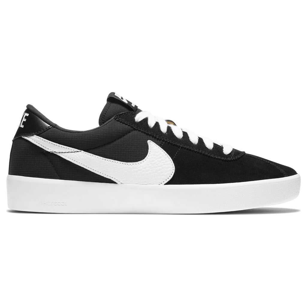 Nike SB Bruin React Shoes in Black / White - Anthracite