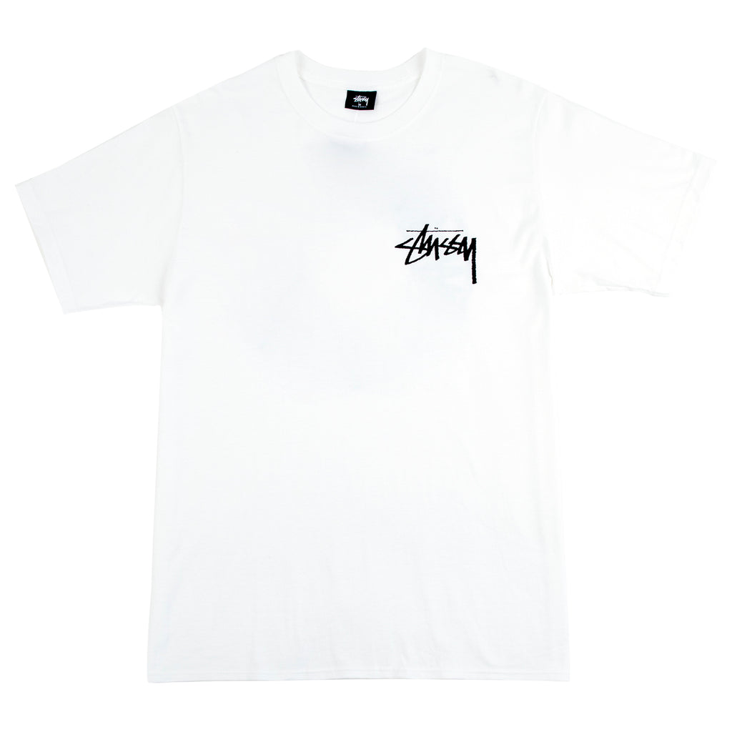 Stussy Buana T Shirt in White - Front