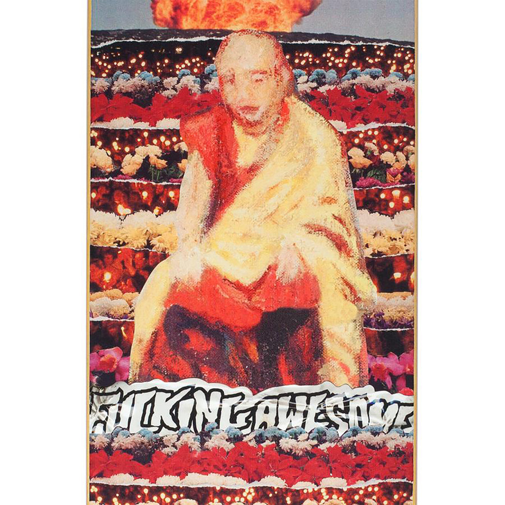 "Fucking Awesome Buddha Sean Skateboard Deck in 8.38"" - Print"