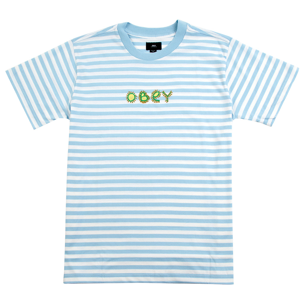 Obey Clothing Buggs T Shirt in Sky Blue