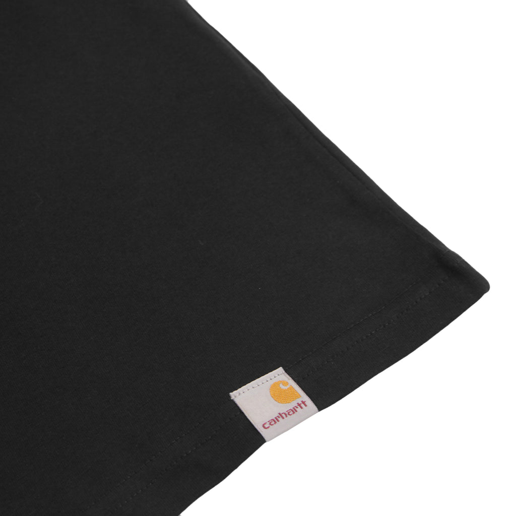 Carhartt Burning Palm T Shirt in Black - Label
