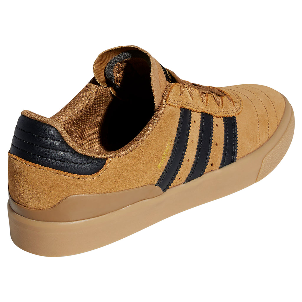 Adidas Busenitz Vulc Shoes in Raw Desert /Core Black / Gum 4 - Heel