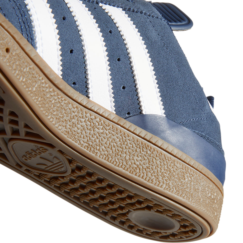 Adidas Busenitz Shoes in Collegiate Navy / Footwear White / Gum - Inside