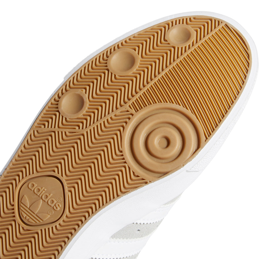 Adidas Busenitz Vulc Shoes in Grey Two / Footwear White / Gold Metallic - Sole