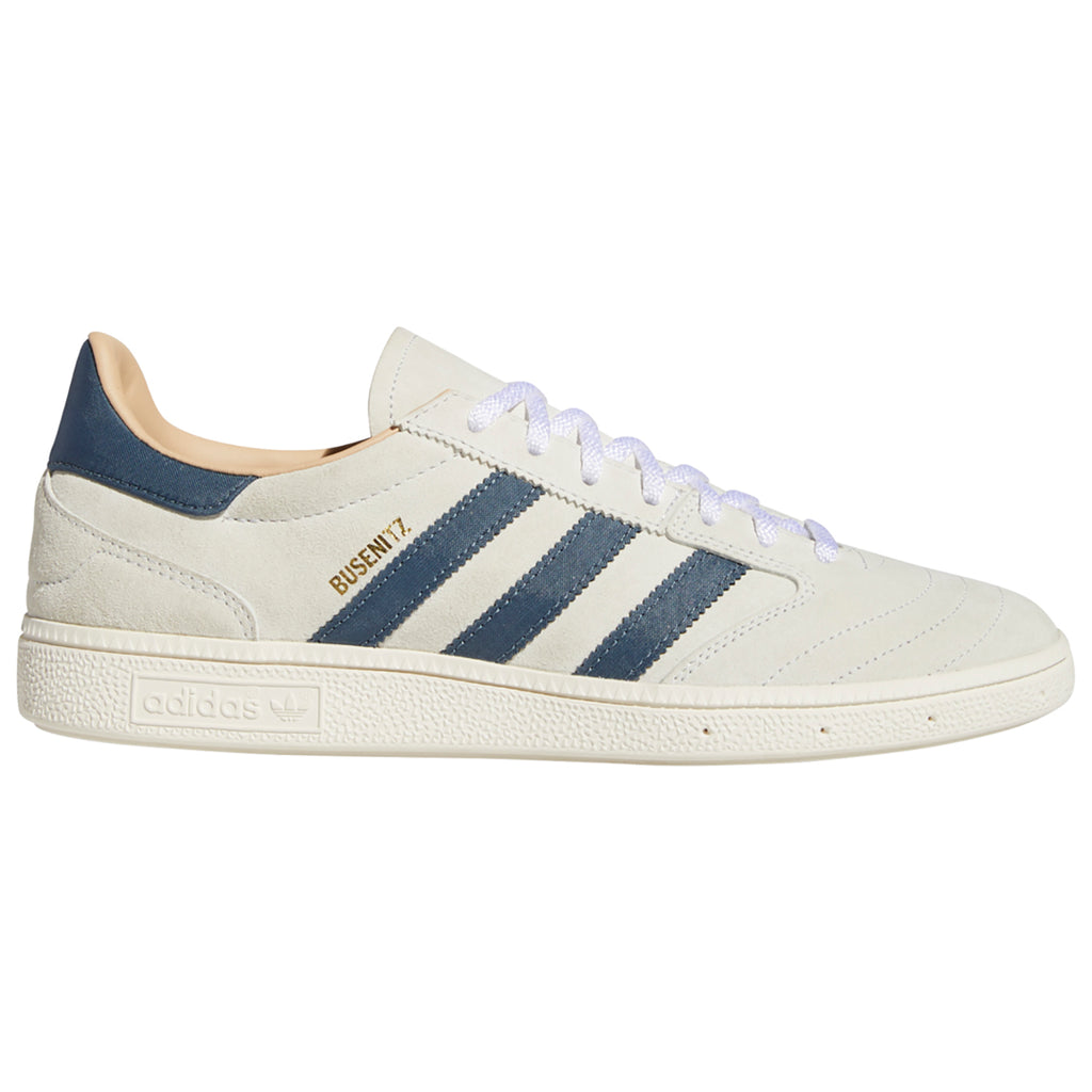 Adidas Skateboarding Busenitz Vintage Shoes in Crystal White / Legacy Blue / Chalk White