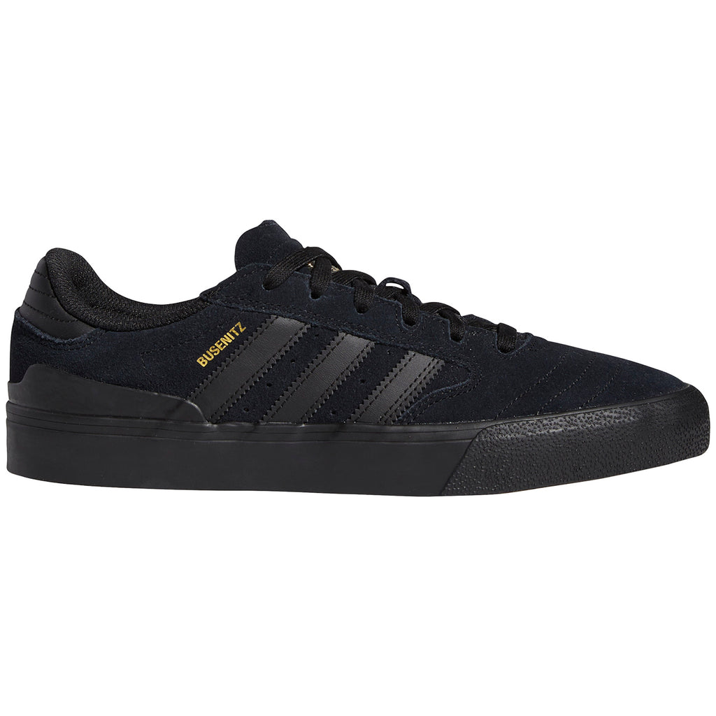 Adidas Skateboarding Busenitz II Shoes in Core Black / Core Black / Gum 4
