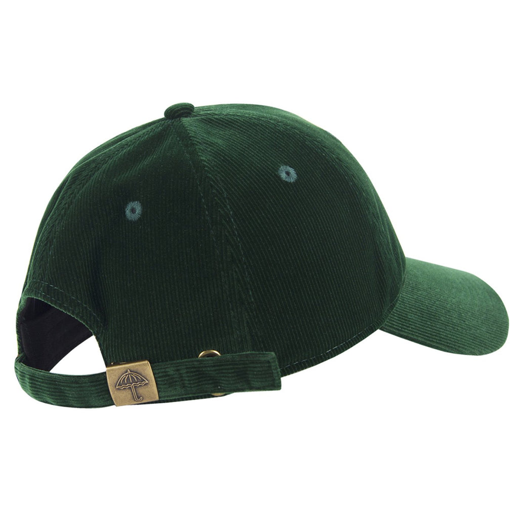 Helas Classic Velvet Cap in Green - Back