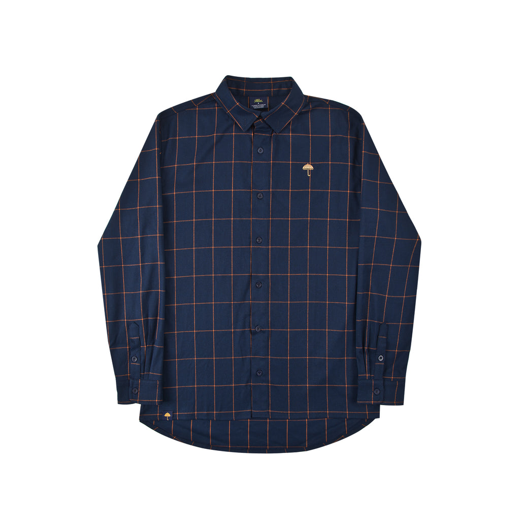 Helas Classic Carreaux Shirt in Navy