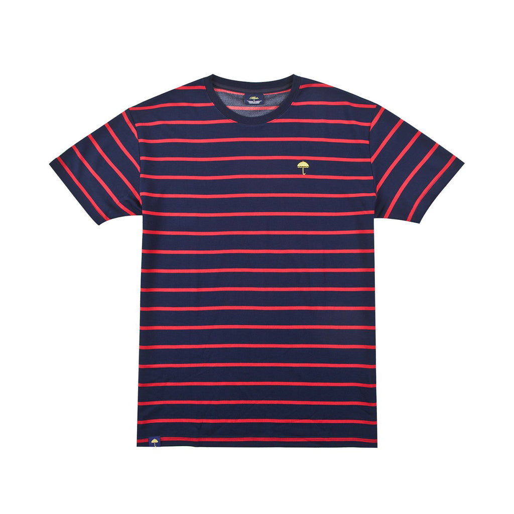 Helas Classic Striped T Shirt in Navy