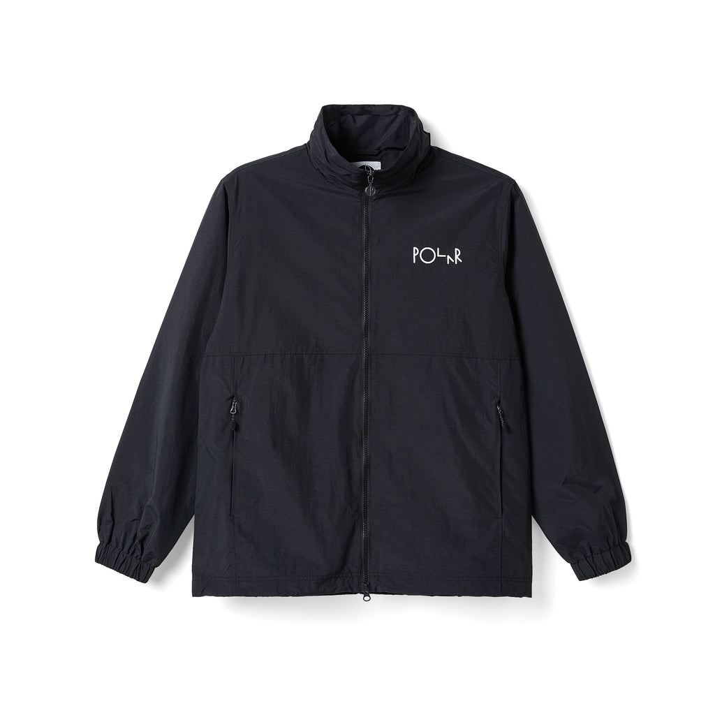 Polar Skate Co Coaches Jacket in Black