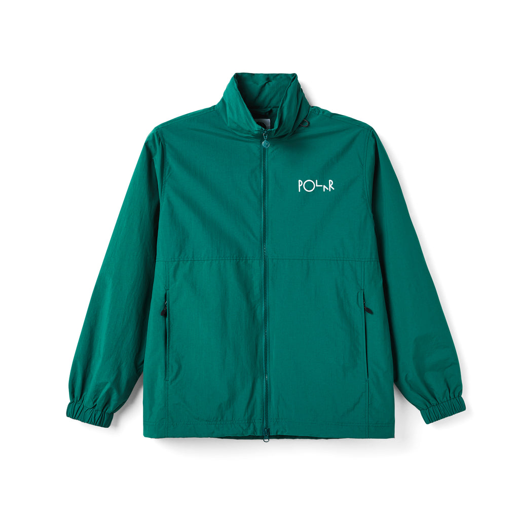 Polar Skate Co Coaches Jacket in Green