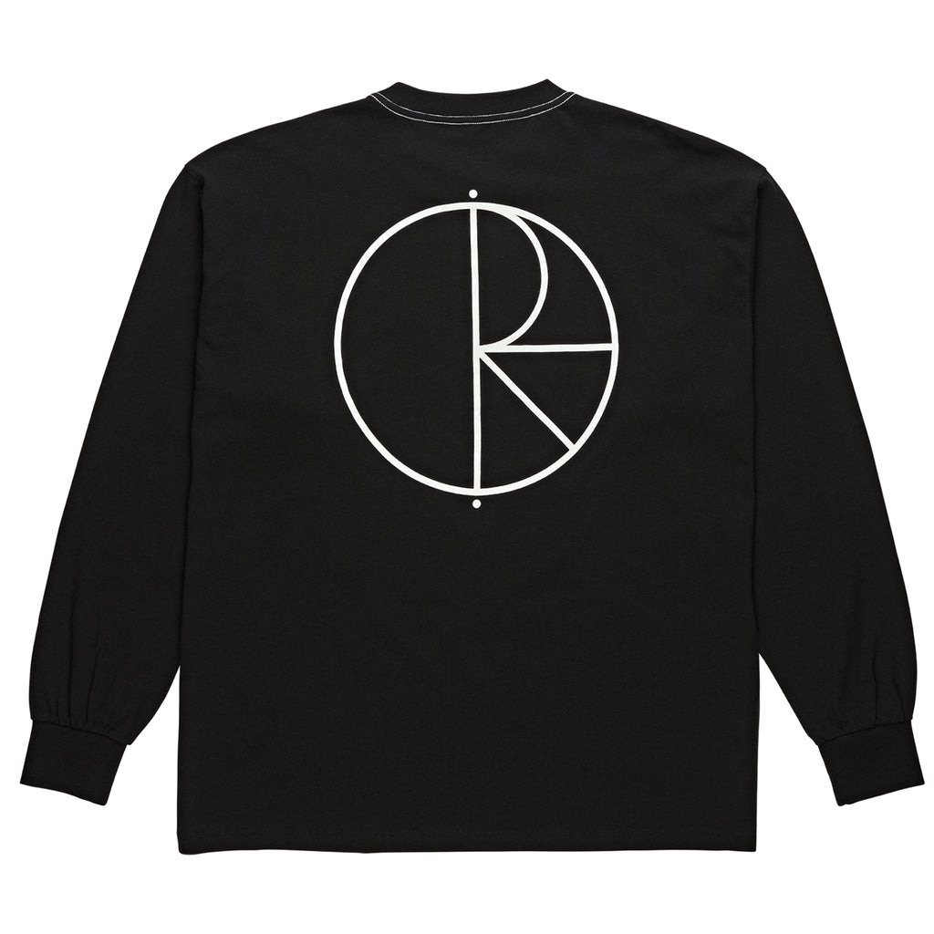 Polar Skate Co L/S Contrast T Shirt in Black