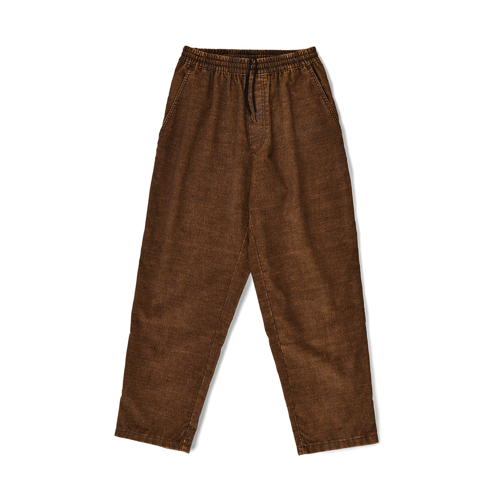Polar Skate Co Cord Surf Pants in Caramel - Front