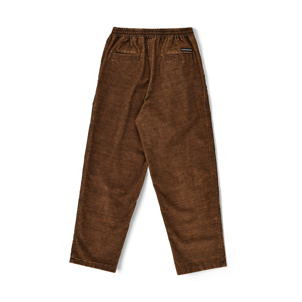 Polar Skate Co Cord Surf Pants in Caramel