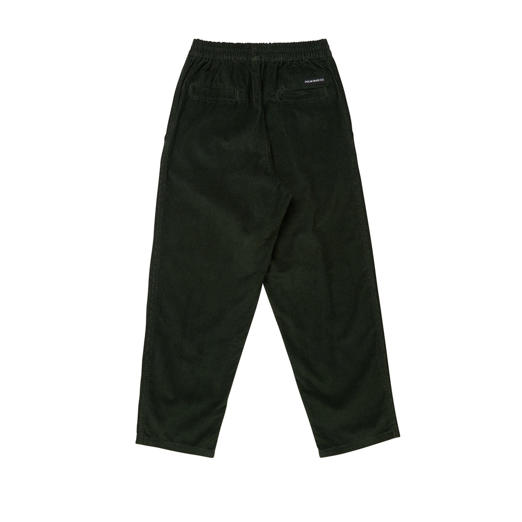 Polar Skate Co Cord Surf Pants in Dark Olive