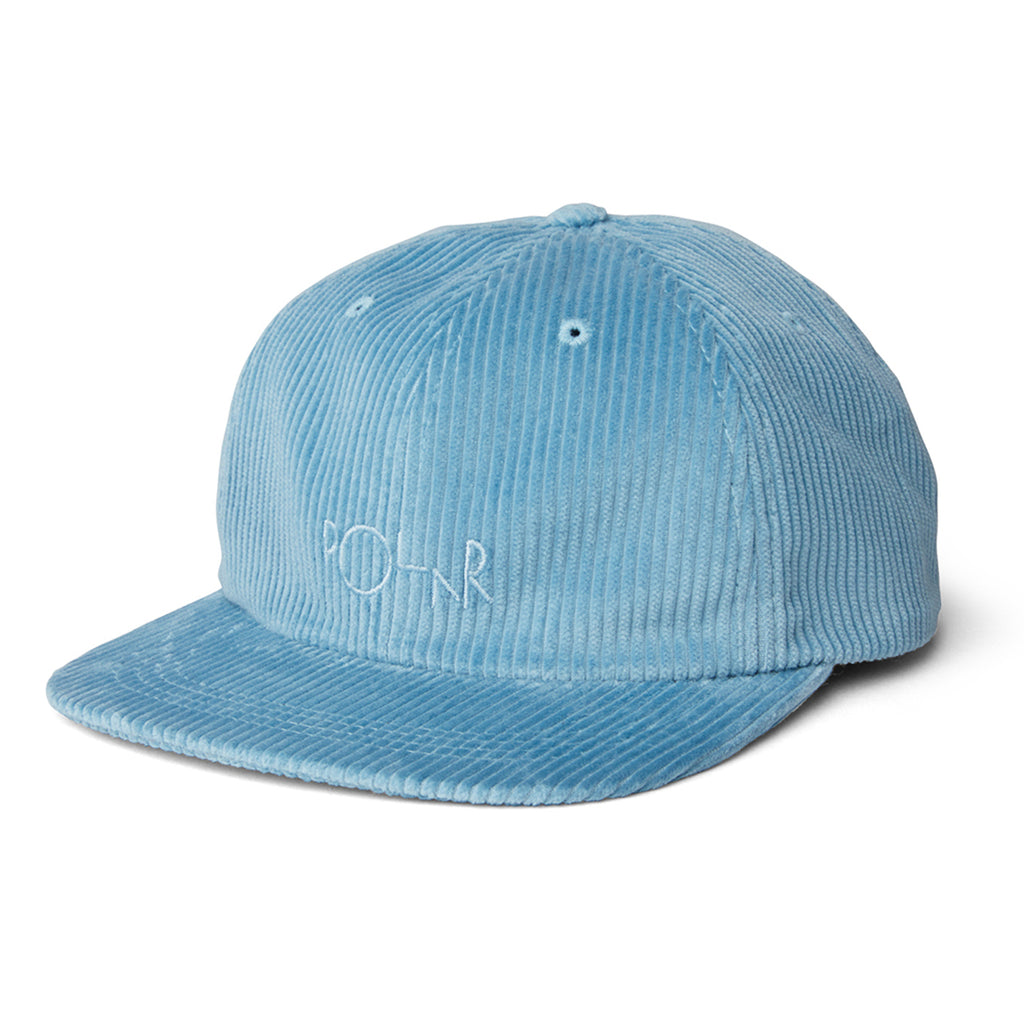 Polar Skate Co Cord Cap in Sky Blue