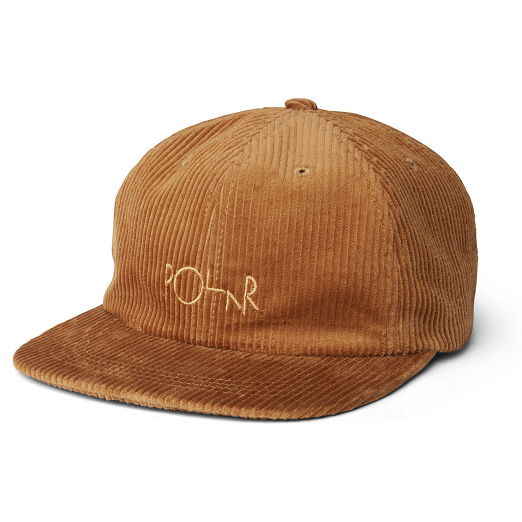 Polar Skate Co Cord Cap in Tan