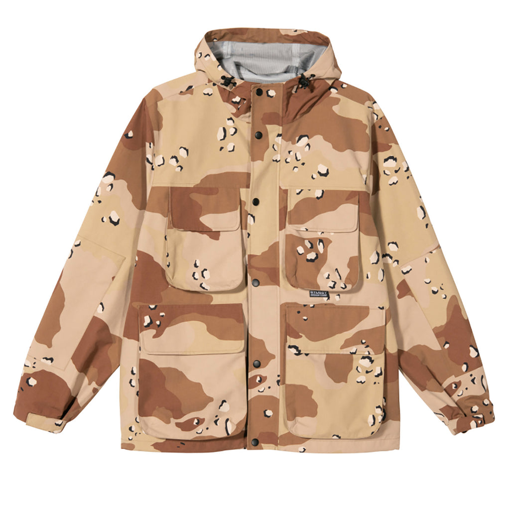 Stussy Camo Taped Seam Field Jacket Camo - Front