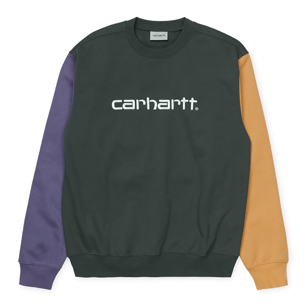 Carhartt WIP Tricol Sweatshirt in Dark Teal
