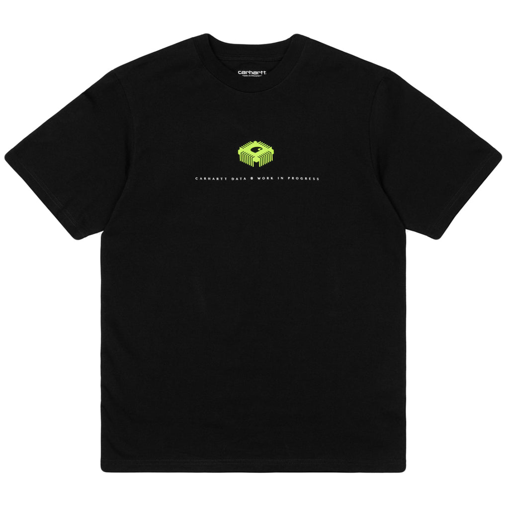 Carhartt WIP Data T Shirt in Black