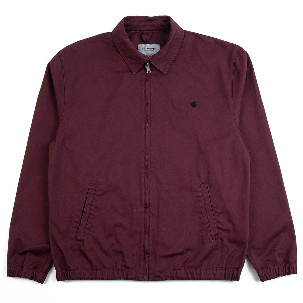 Carhartt WIP Madison Jacket in Shiraz / Black